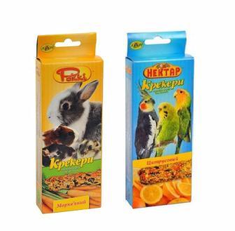 Крекер для птиц и грызунов Лори