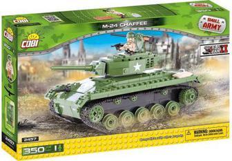 Конструктор Cobi Танк M-24 Chaffee (США) 350 деталей (COBI-2457)