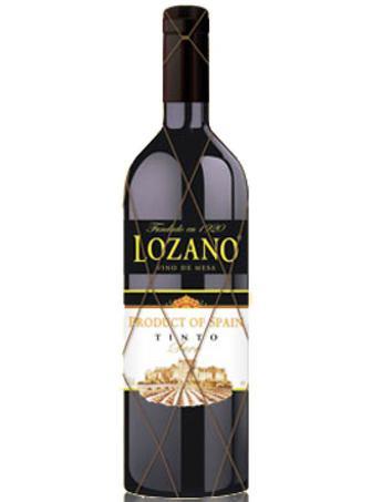 Вино ЛозаноКабальеросДеЛаРосаТинто н/сол черв0,75л