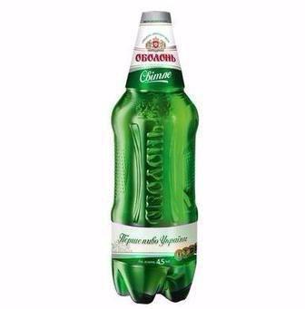 Пиво світле, Оболонь, 1,2 л