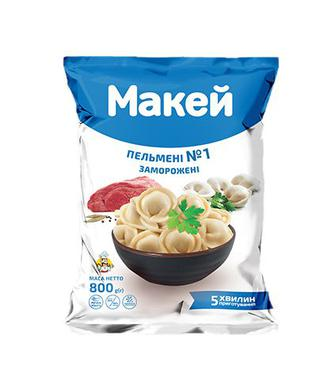 Скидка 20% ▷ Пельмені Макей свин/ял/кур №1 800г