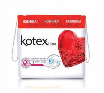 Kotex прокладки щоденні та гігієнічні