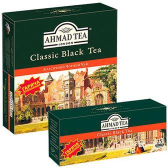 Чай Ahmad Набір Classic Black Tea 1+1