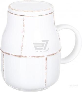 Чашка з кришкою Vintage beige 350 мл LH5506-350-J021 Fiora