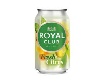 Напій Royal Club безалкогольний газований, Свіжий цитрус, 0,33 л