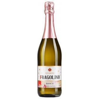 Вино игристое Fragolino Sizarini сладкое белое, красн., 0,75 л