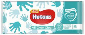 Вологі серветки Huggies Oll Over Clean 56 шт.