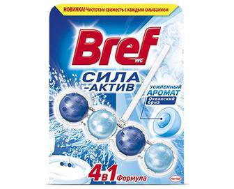 Блок туалетний Bref Сила-Актив «Океанський бриз» 50г