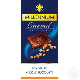 Шоколад чорний, молочний Millennium 100г