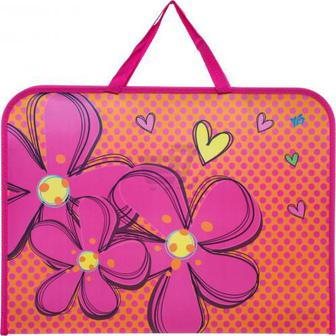 Папка-портфель на блискавці А3 Flowers 1 вересня