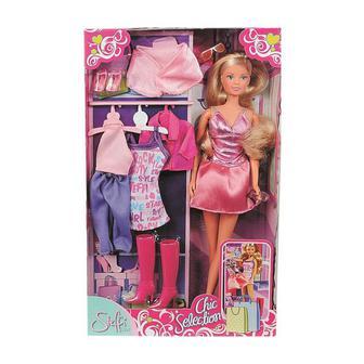 Игровой набор Мисс изящество Steffi & Evi Love розовое платье (5733450)