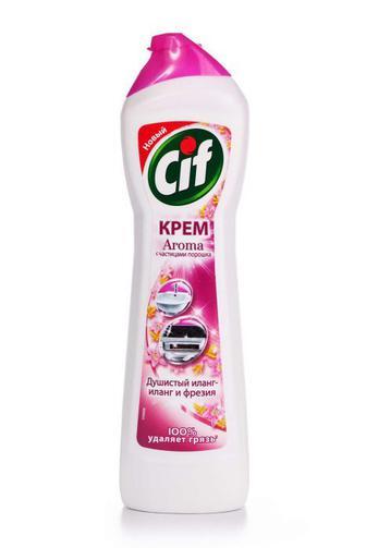 Средство для чистки Cif крем Розовая Свежесть, 500мл