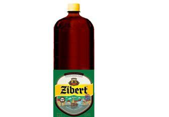 """Пиво Світле 4,4%, пет, """" Zibert """", 1,25л"""