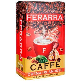 Скидка 23% ▷ Кава Ferarra 100% Crema Irlandese мелена 250г