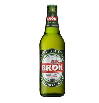 Пиво світле Brok 0,33л