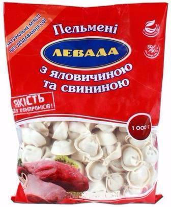 Пельмені Лквада Яловичина/Свинина 1 кг
