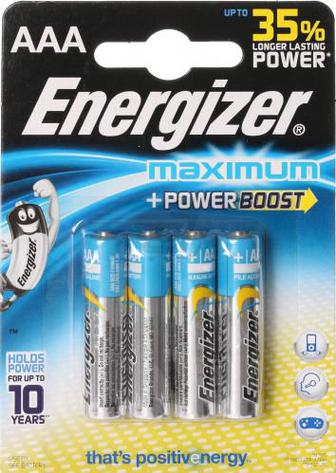 Батарейка Energizer Maximum FSB4 ААА 4 шт. (638437)