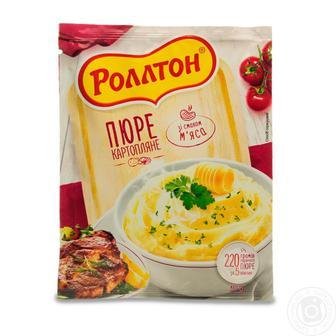 """Пюре картофельное Сливки, Мясная, Курица Роллтон"""" 37 г"""