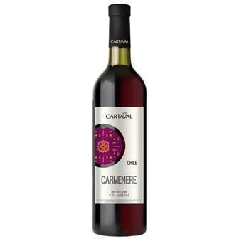 Вино Сarmenere червоне сухе 0,75л Картавал