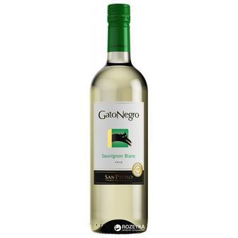 Вино Gato Negro Sauvignon Blanc напівсолодке 0.75