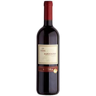 Вино Terre Di Verona Bardolino червоне сухе 0,75л