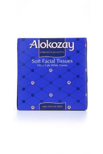 Салфетки косметические Alokozay 2шаровые куб 100шт