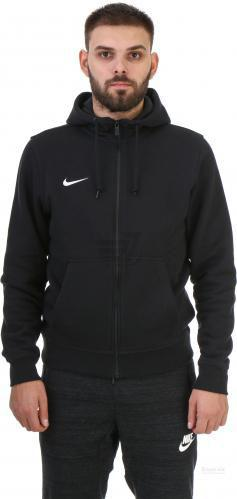 Джемпер Nike Team Club FZ Hoody AW1718 658497-010 р. S чорний