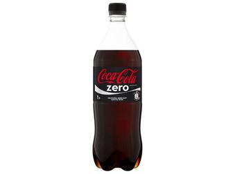 Вода Кока-кола (Coca-Cola) Zero 1 л