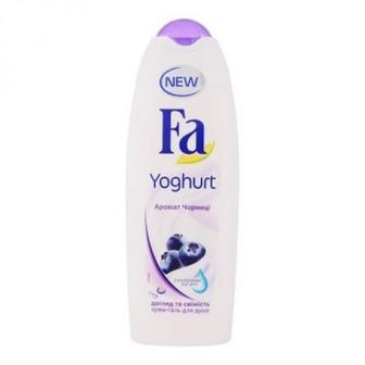 """Гель для душа """"Yoghurt Черника"""" Fa 250 мл."""