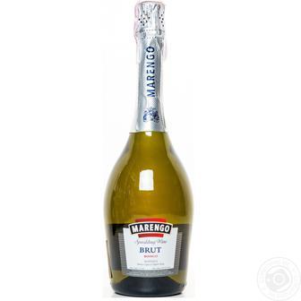 Вино ігристе Marengo Brut Bianco біле брют 13,5% 0,75л