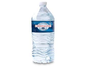 Вода мінеральне природна негазована, Cristaline Jean Baptiste, 1 л