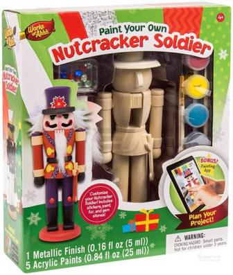 Іграшковий набір для творчості Masterpieces Солдат-лускунчик 21423