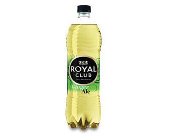 Напій безалкогольний газований «Імбирний ель» Royal Club, 1 л