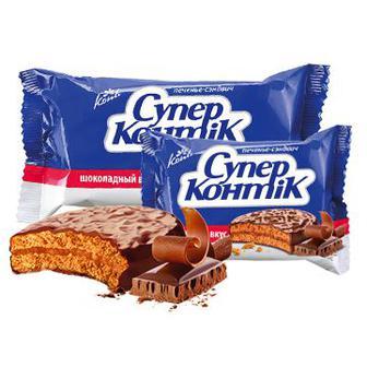 Печиво супер-контік шоколадний смак, Конті 100г