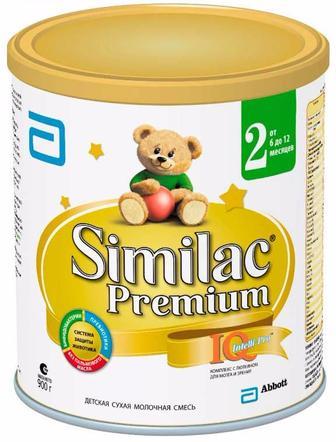 Замінники грудного молока Сімілак Преміум 2 і 3