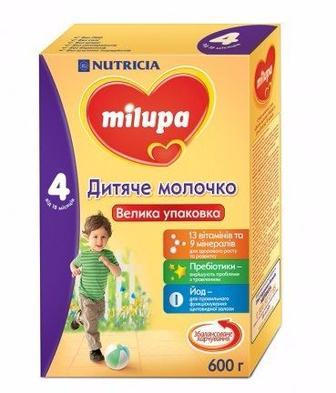 Дитяче молочко Milupa4  600г