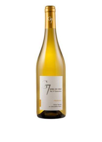 Вино белое сухое G7 Chardonnay 0,75 л
