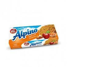 Печенье яблоко-корица-мед, Hi Alpino, 150г
