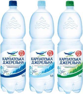 Вода Карпатська Джерельна 1,5л