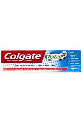 Зубная паста Colgate Тотал Профессиональная Чистка 75мл