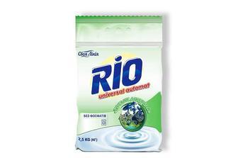 Засіб миючий синтетичний RIO Universal «Гірське джерело», порошок автомат Своя Лінія 2,5 кг