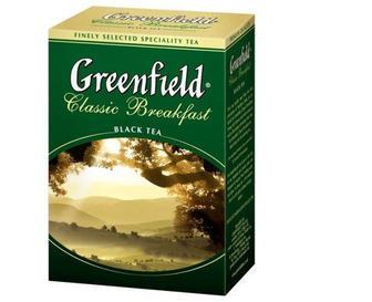 Чай чорн., зелен. 100г, Greenfield