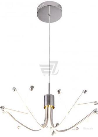 Люстра світлодіодна Геотон GTN-612А/5Р 48169 72 Вт хром