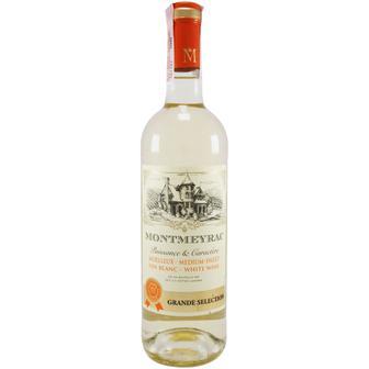 Вино Montmeyrac Blanc белое полусладкое 0.75л
