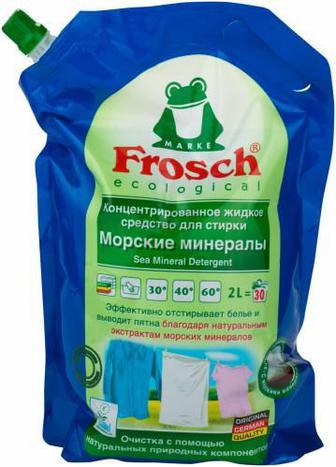 Рідкий засіб для машинного прання FROSCH Морські мінерали 2 л