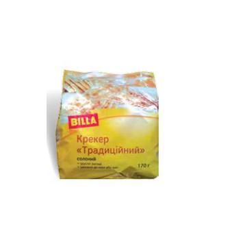 Крекер Традиційний солоний BILLA 170 г