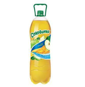 Напиток газированный Лимон, Апельсин, Микс  Соковинка  2л