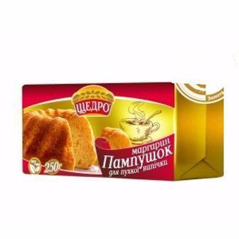 Маргарин Пампушок Щедро 250г