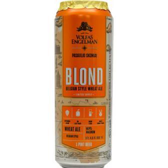 Пиво Volfas Engelman Blond 0,568L