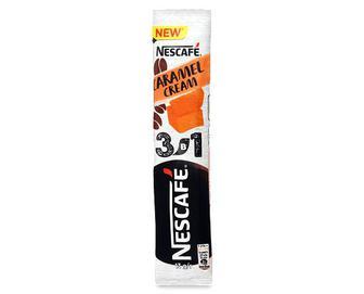 Напій кавовий Nescafe з карамеллю, 3 в 1 розчинний, 13г